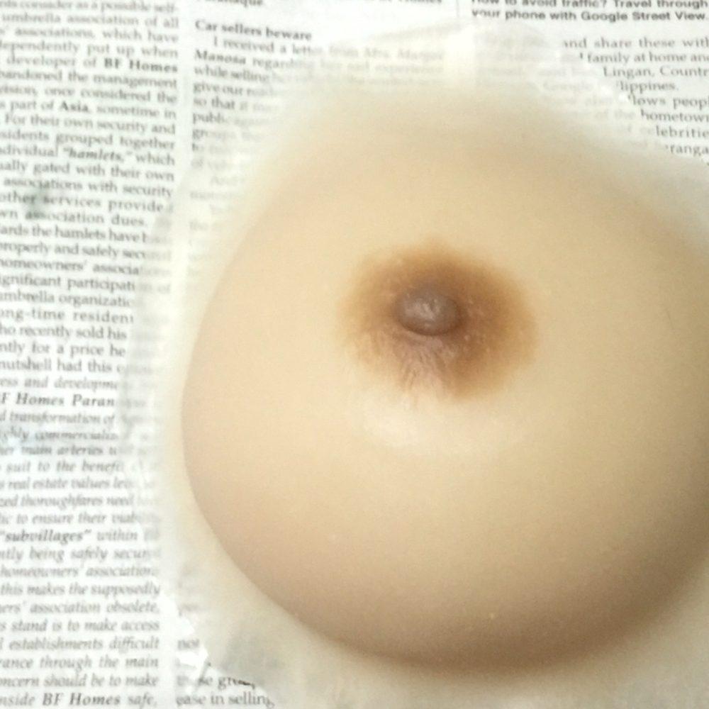 温泉用装着型人工乳房の保管方法